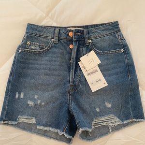 NWT ZARA Jean Shorts